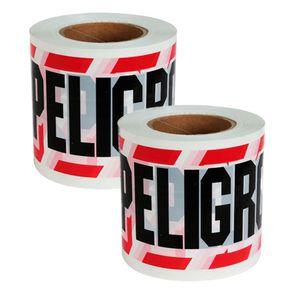 Cinta Peligro 13x350 mts