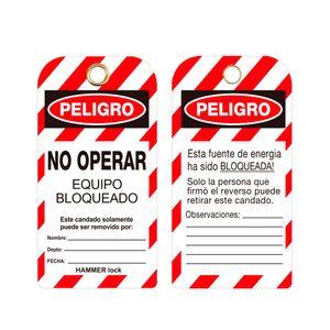 Tarjeta Bloqueo